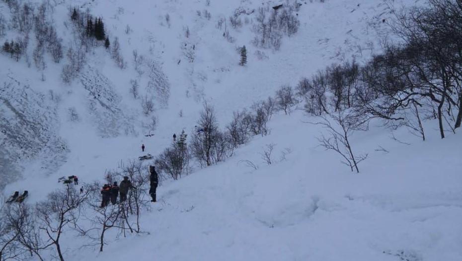 Спасательная операция в Хибинах, Мурманская область.