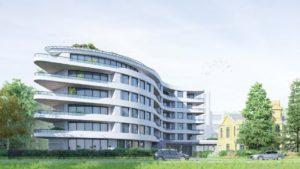 Раскритикованный проект дома на Крестовском острове встал на паузу
