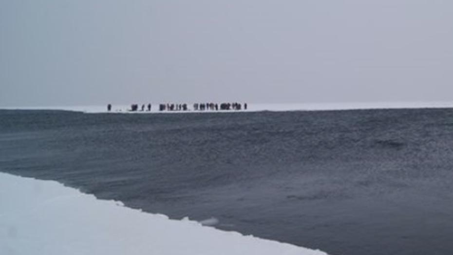 Спасатели догнали льдину с рыбаками в Финском заливе