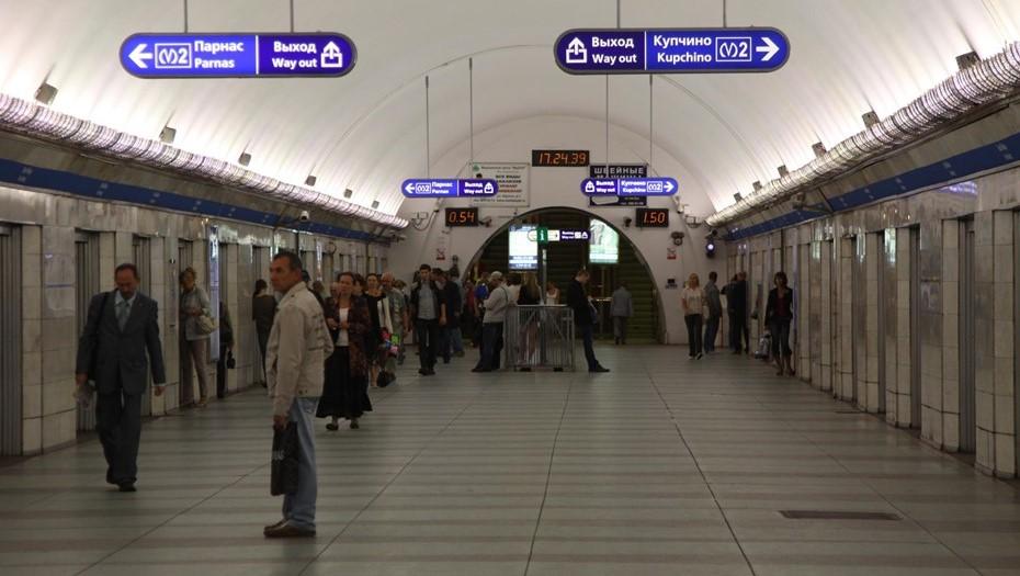 """Станция петербургского метро """"Парк Победы"""" переходит на особый режим работы"""