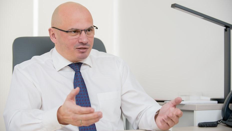 Управляющий петербургским филиалом Альфа–Банка Сергей Кульпин