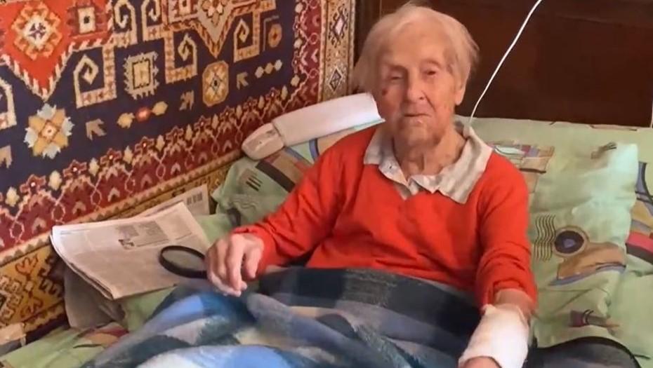 В Петербурге избитую сиделкой блокадницу снова увезли в больницу