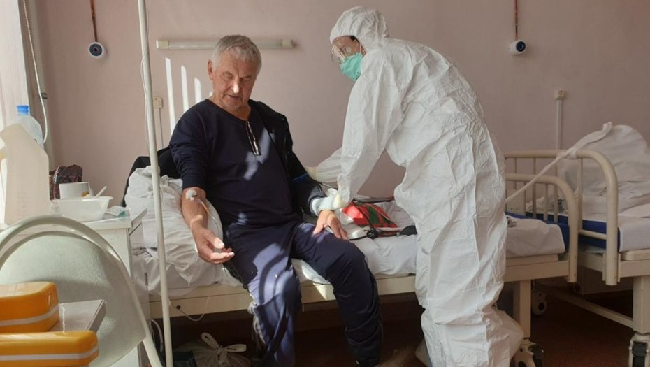 В Петербурге назвали средний возраст пациентов с COVID в реанимации
