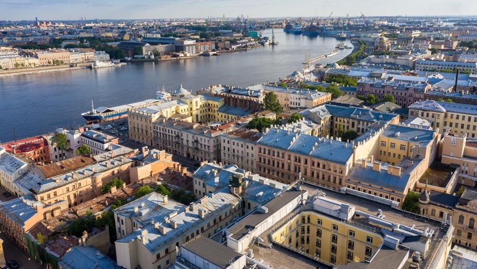 В Петербурге самый грязный воздух оказался на Васильевском острове