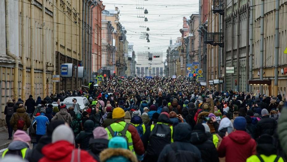В петербургском главке признали причастность к перекрытию центра города