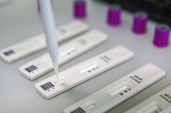 В России создали тест для определения количества коронавируса