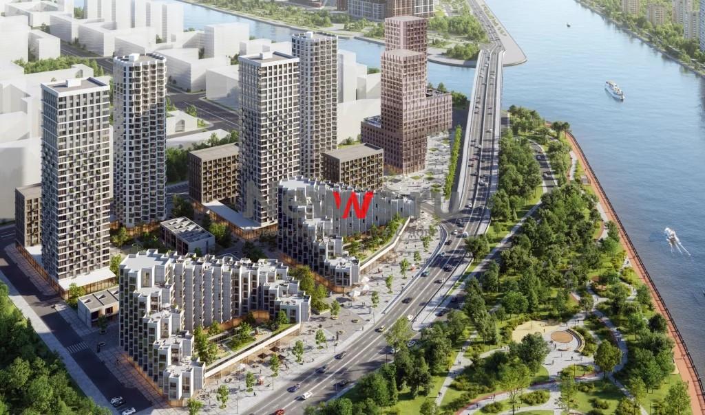 Жилой квартал Shagal на территории ЗИЛ-Юг получил разрешение на строительство
