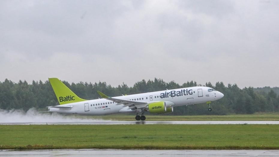 AirBaltic возобновила полёты из Риги в Петербург