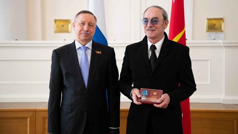 Беглов наградил Боярского и Фрейндлих