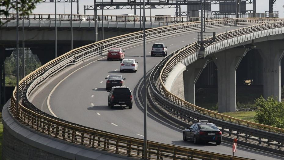 Дорожники досрочно завершили работы на развязке КАД с Пискарёвским