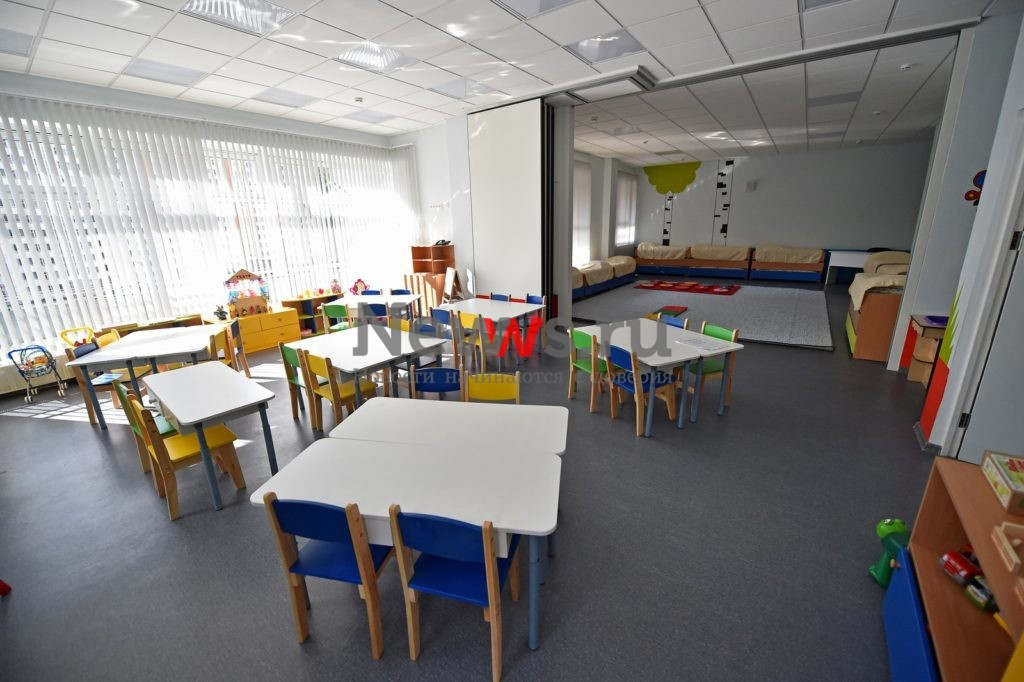 Для бывших обманутых дольщиков ЖК «Ново-Никольское» введен в эксплуатацию детский сад