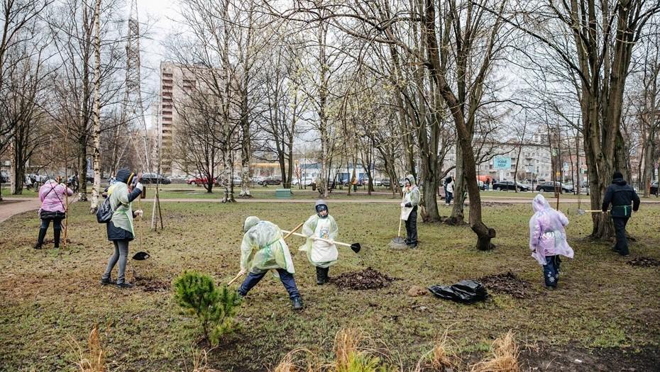 Калининский район отличился в День благоустройства