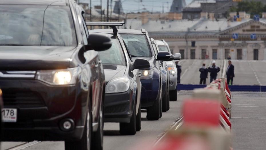 На КАД между Таллинским шоссе и ЗСД перекроют две полосы