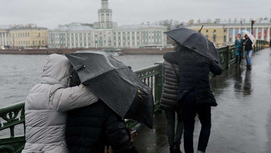 Петербург в воскресенье ожидает один из самых холодных дней апреля
