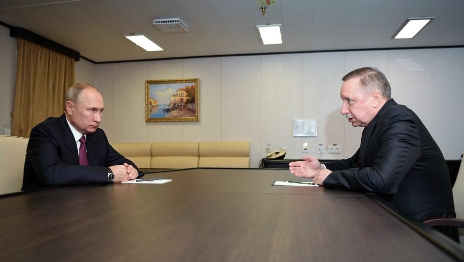 Путин обсудит с Бегловым социально-экономическое развитие Петербурга