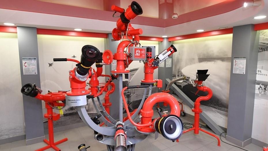 В Карелии расширяют производство пожарных роботов