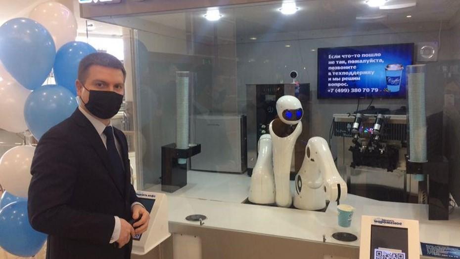 В Мурманске открылось первое роботизированное кафе