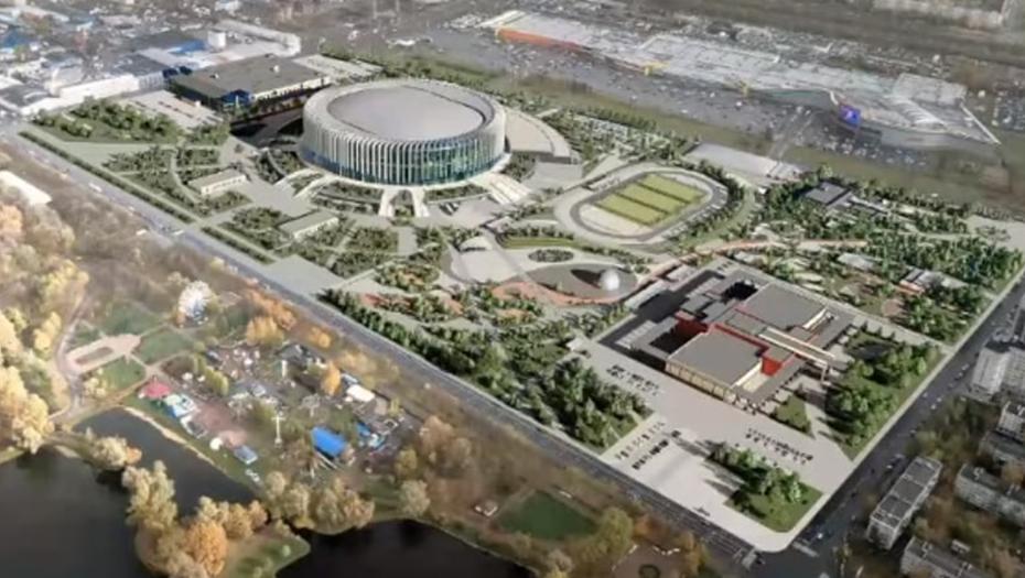 В Петербурге представили проект реконструкции СКК