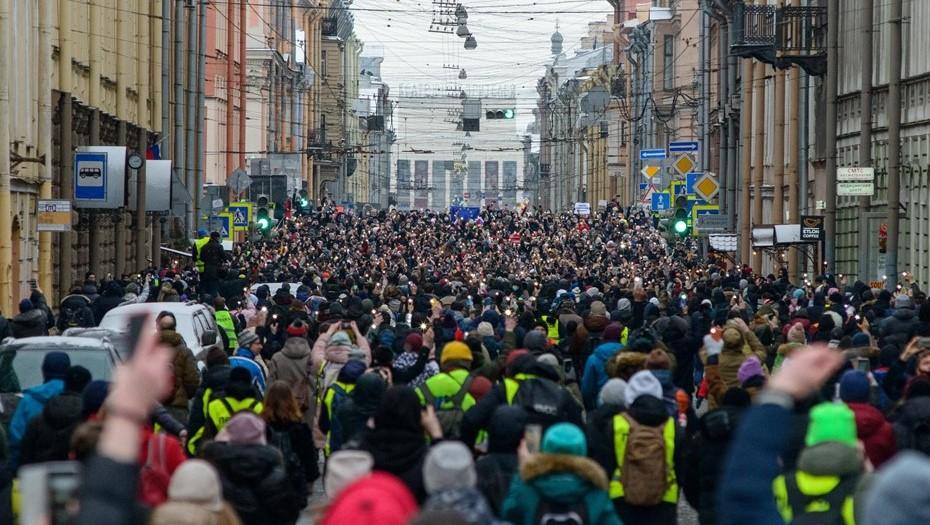 В Петербурге задержали экс-главу штаба Навального