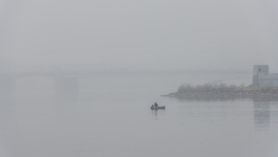 В воскресенье Петербург ожидают дождь и туман