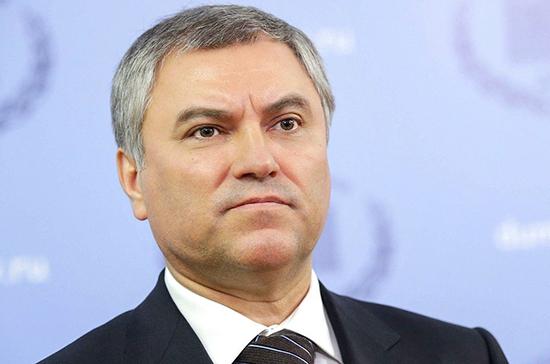 Володин призвал ПАСЕ и ОБСЕ оценить действия Украины в связи с гибелью ребенка в ДНР