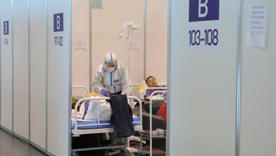За неделю число ковид-госпитализаций в Петербурге выросло на 9%