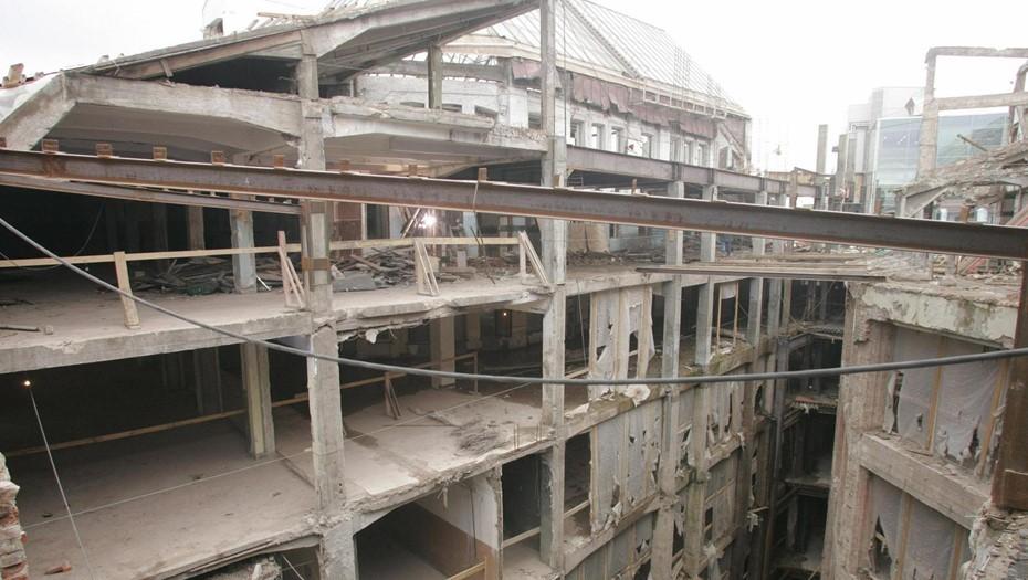 Реконструкция ДЛТ, 2007 год.