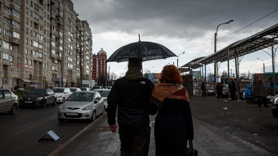 "Циклонический вихрь ""Фюрхтеготт"" зальёт Петербург дождями"
