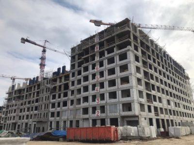 Завершен монтаж инженерных систем в корпусе №1 дома для обманутых дольщиков в Рязановском поселении