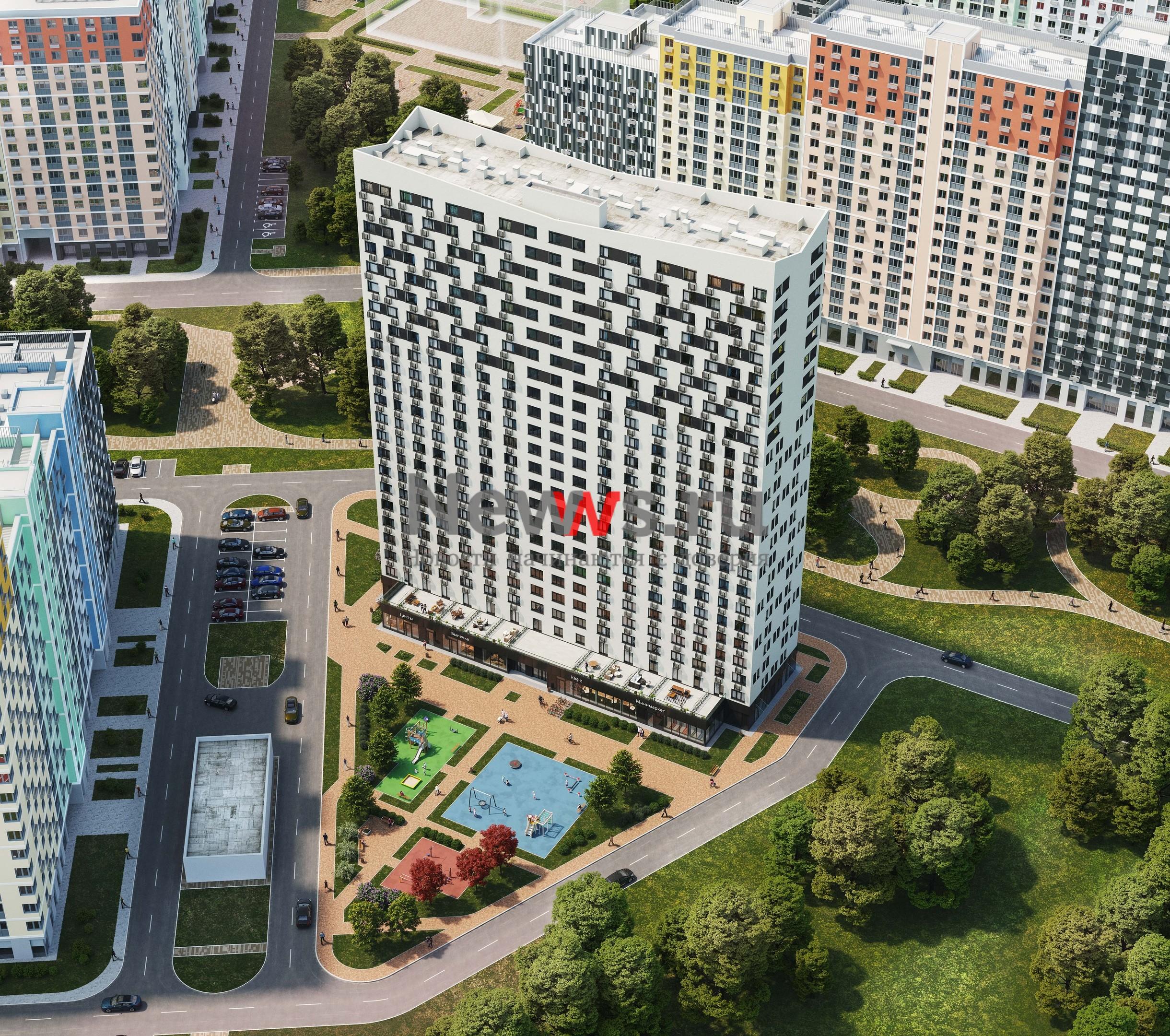 Москомстройинвест: «Группа ЛСР» получила ЗОС на открытие продаж в корпусе №12 в ЖК «Лучи»