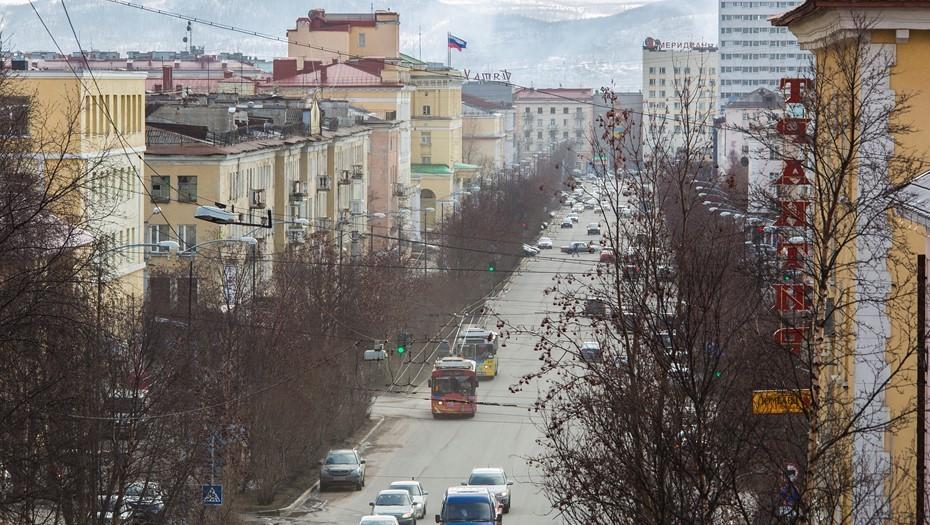 Мурманск пережил самую холодную майскую ночь XXI века