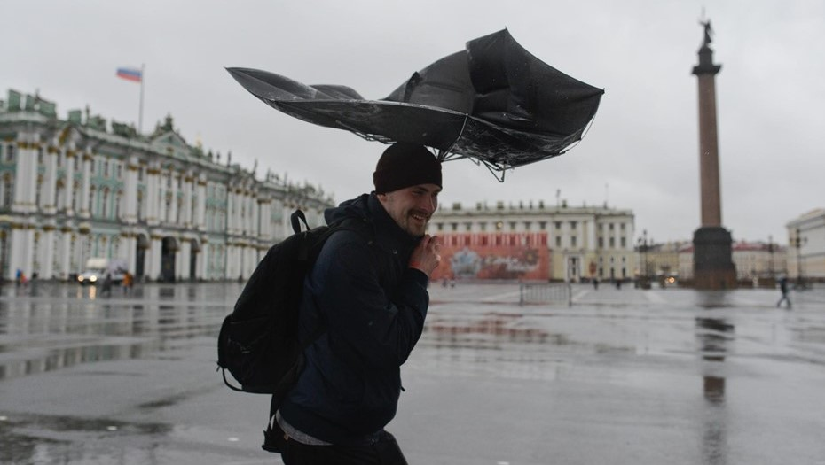На территории Ленобласти объявили штормовое предупреждение