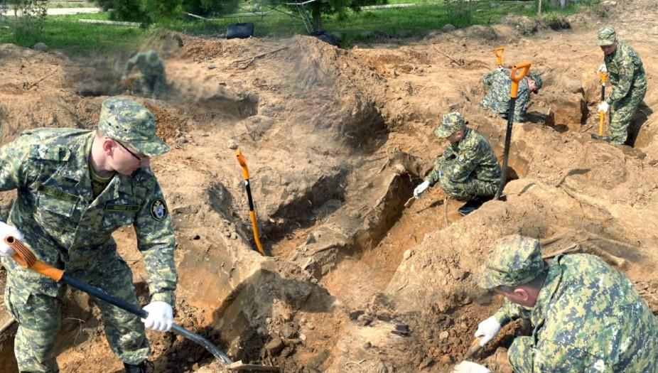 Новое массовое захоронение мирных граждан нашли под Великим Новгородом