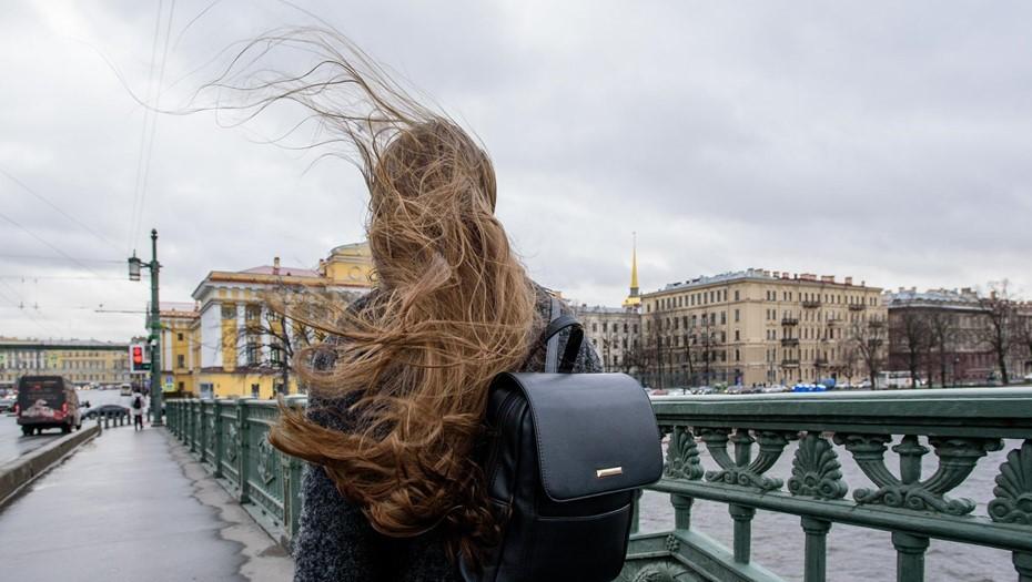 Петербуржцев предупредили об усилении ветра до 17 м/с в понедельник