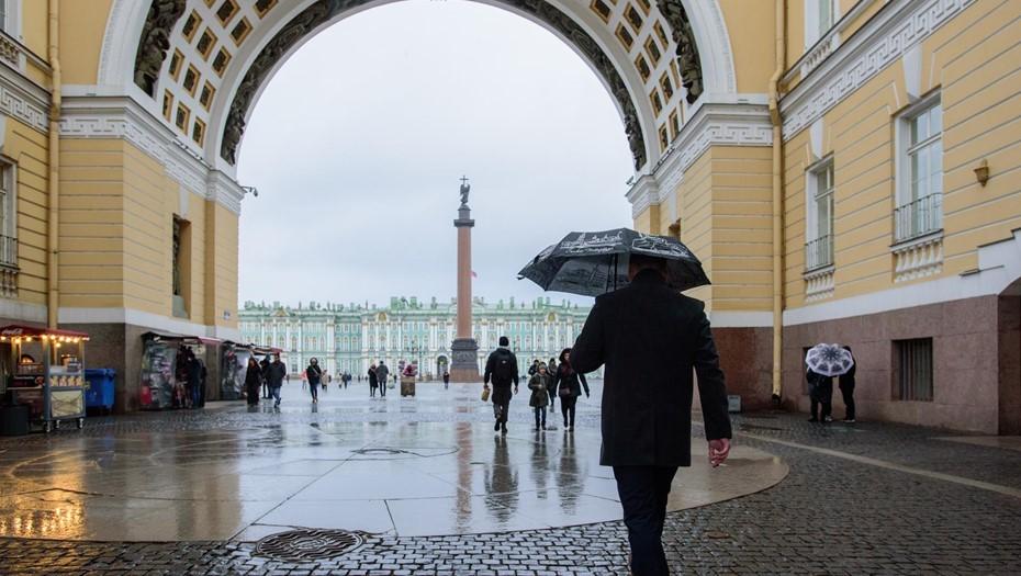 Половина месячной нормы осадков выпала в Петербурге в начале мая