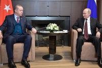 Путин и Эрдоган рассчитывают на возобновление связей в туристической сфере