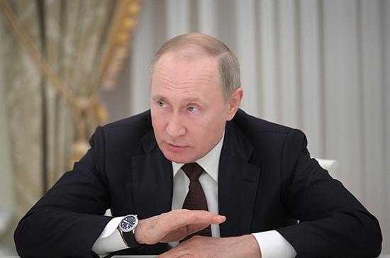 Путин заявил о нехватке рабочих рук в целых отраслях экономики