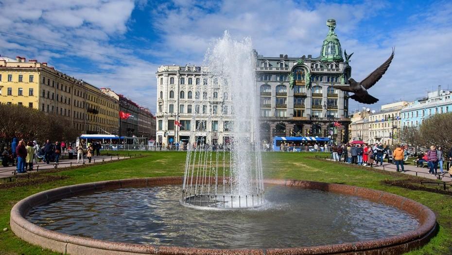 Резкое потепление ждёт Петербург в начале недели