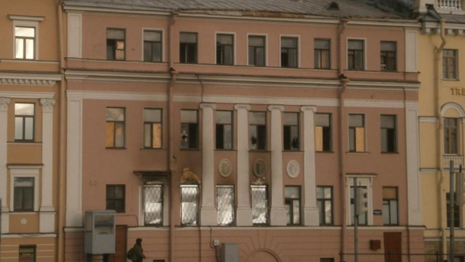 """СКР проводит обыск в """"Адаманте"""" по делу о пожаре в особняке Черкасского"""