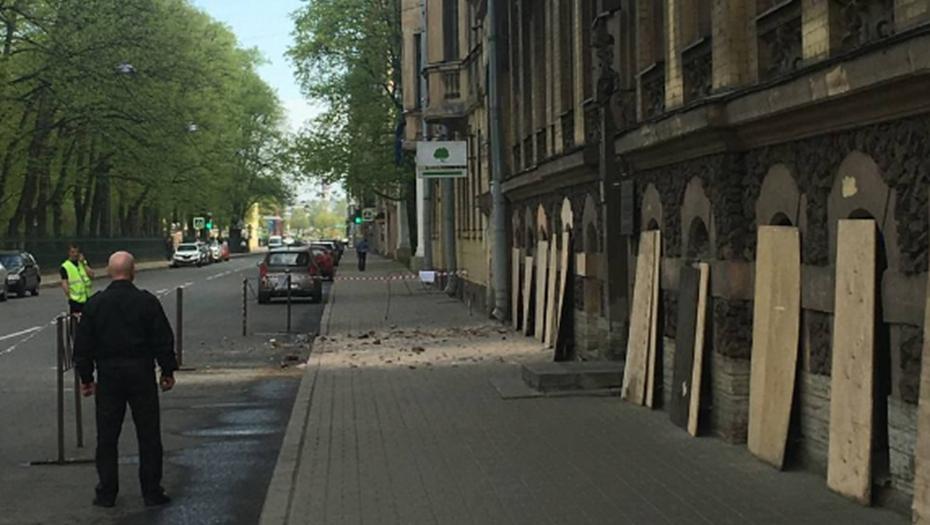 Таврическая улица приняла эстафету обрушений в Петербурге