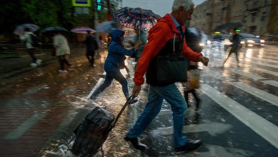 Ураган искалечил бабушку с внучкой в Петербурге