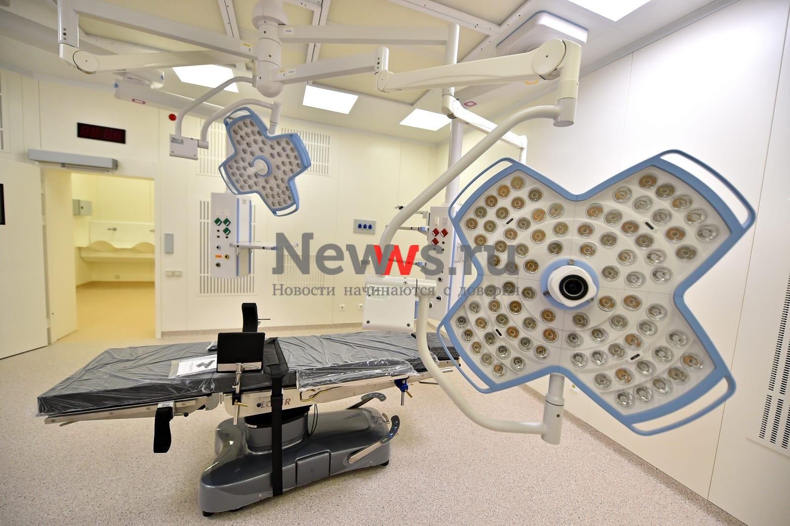 В Басманном районе реконструируют корпус центра глазных болезней