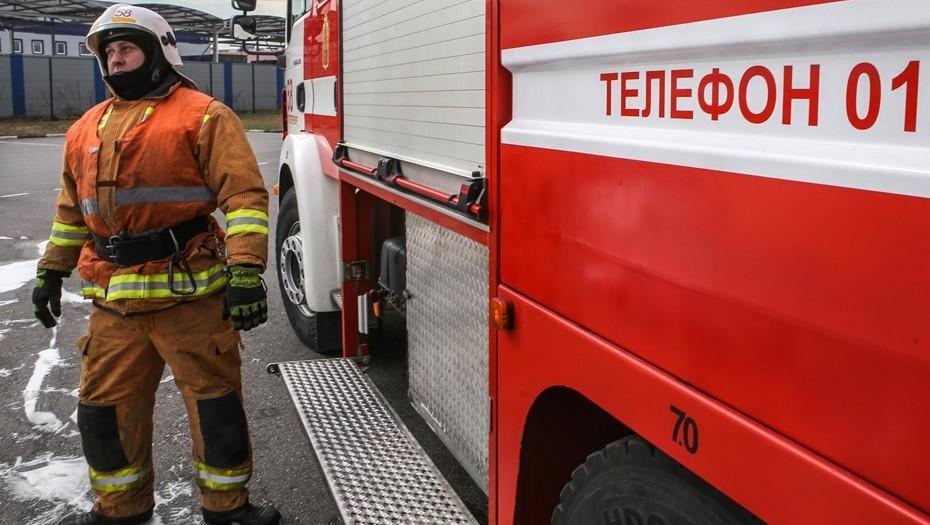 В гостинице на юге Москвы произошёл пожар, пострадали семь человек