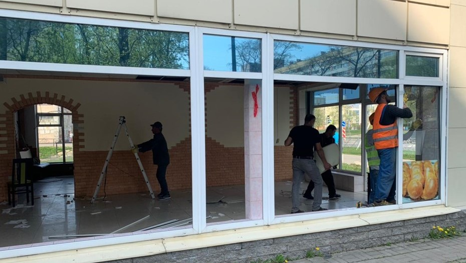 В Петербурге снесли кафе узбекской кухни на Дачном проспекте