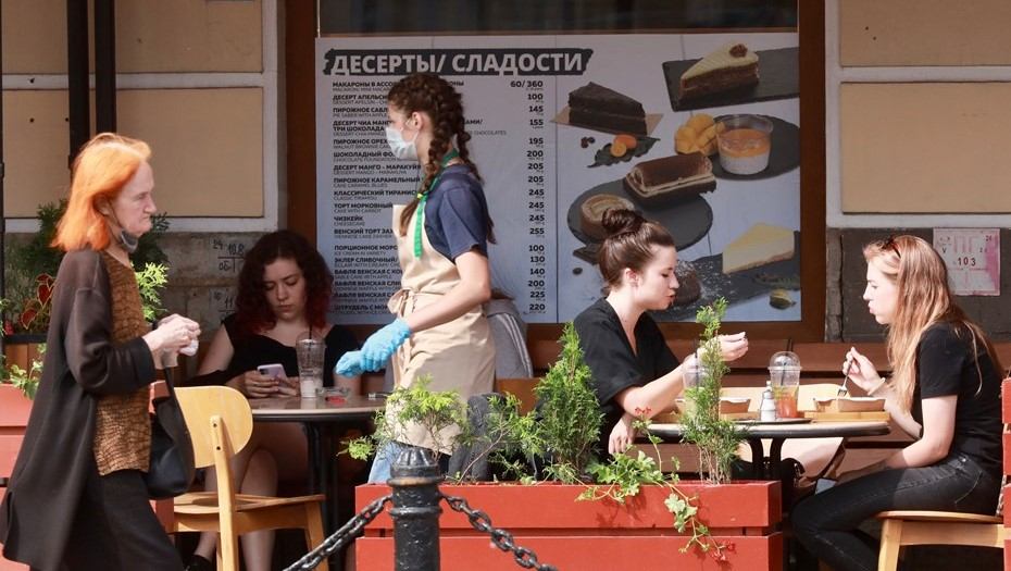 Цены вресторанах икафе Петербурга загод выросли на10%