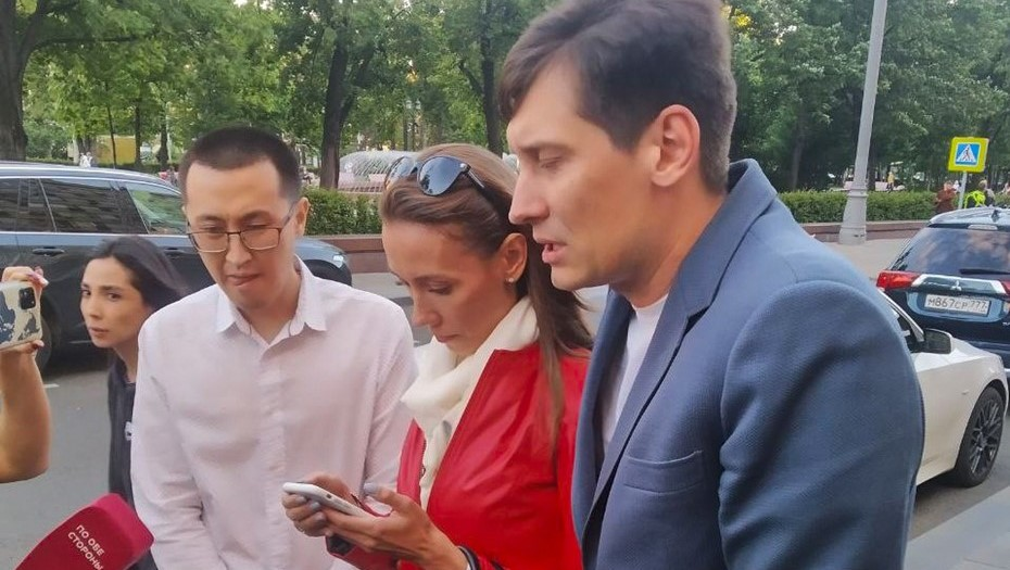 Экс-депутата Госдумы Дмитрия Гудкова отпустили из полиции