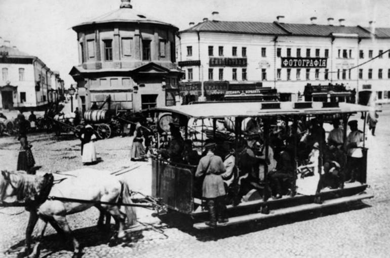 Как была устроена первая московская конка