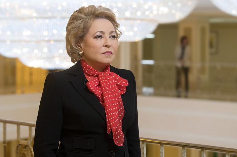 Матвиенко назвала защиту здоровья и прав детей одним из главных приоритетов госполитики России