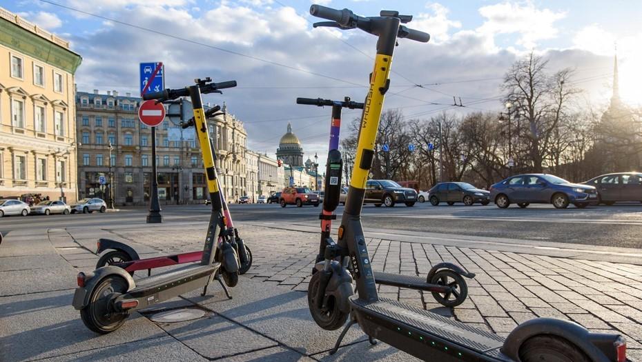 Новые обыски по делу против кикшеринга проходят в Петербурге