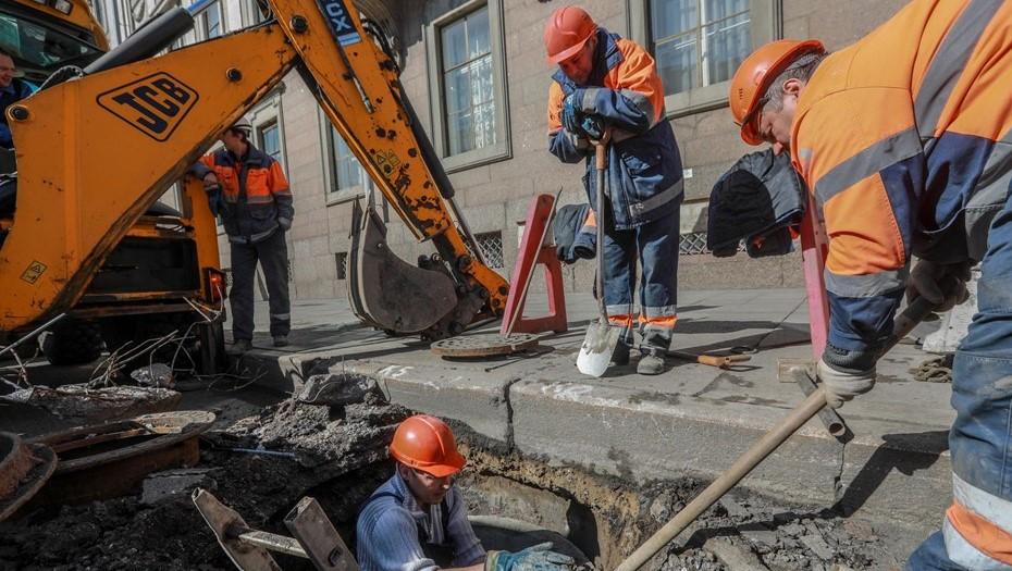 Ограничения движения вводятся с 26 июня в трёх районах Петербурга